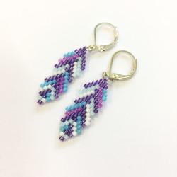 Mini pírka fialová