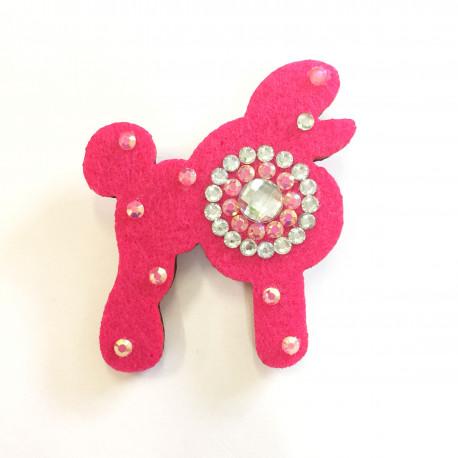 Růžový pudlík